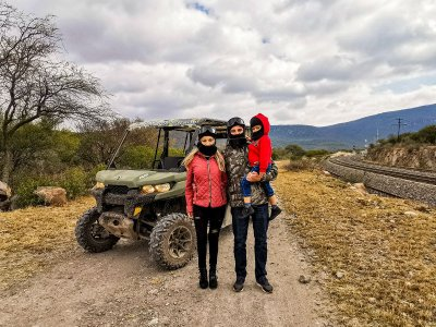 4x4 Route and Cava Bocanegra Cheese Tequisquiapan 2h