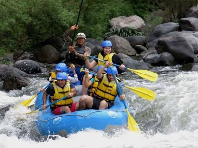 Rafting and via ferrata plus accommodation in Jalcomulco
