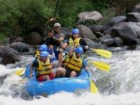 Rafting y vía ferrata más hospedaje en Jalcomulco