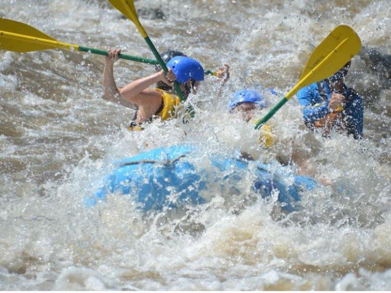Maximum adrenaline in the water