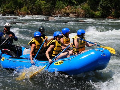 Extreme rafting + zip line and lodging Jalcomulco