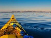 landscapes with kayak