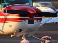 Enjoy a private flight in one of our planes