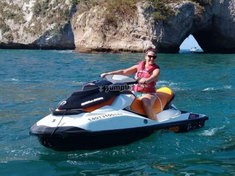 Diversión garantizada con tu moto acuática