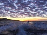 Amanecer antes del snorkel
