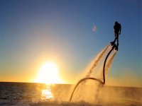 Flyboard at sunset