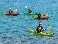 Kayak tour by the sea