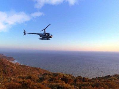 Helicopter flight in Bufadora de Ensenada 20min