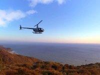 Atardecer en helicóptero