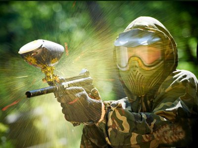 Paintball 1000 bullets for 10 pax in Cancun