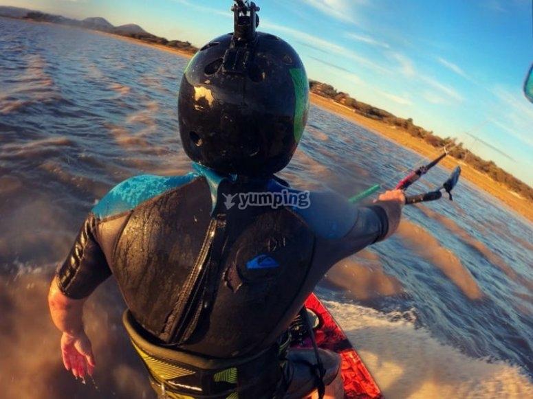Aprende kitesurf sin necesidad de ir a la playa