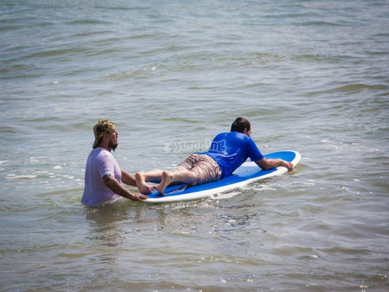 Profesionales en surf