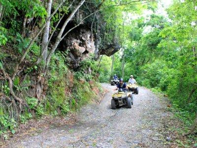 Tour en cuatrimoto a cascadas y cafetales Huatulco