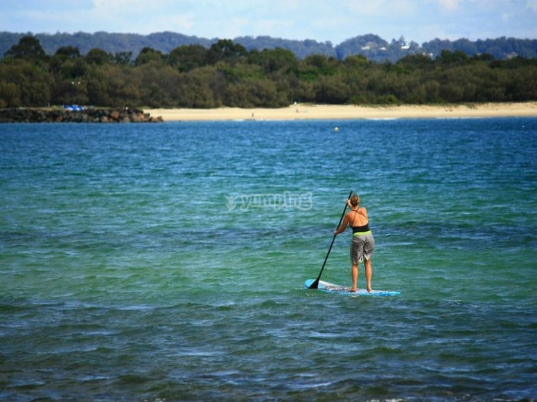 Practicing SUP