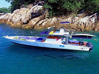Private boat trip 25 pp Puerto Vallarta 4h