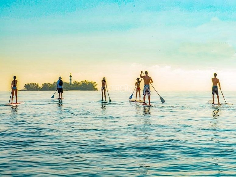 Enjoy incredible landscapes on your SUP board
