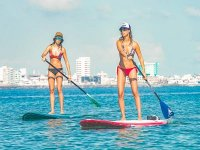 Stand Up Paddle and snorkel in Isla de Sacrificios