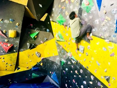 Voucher 10 passes for climbing wall in Puebla