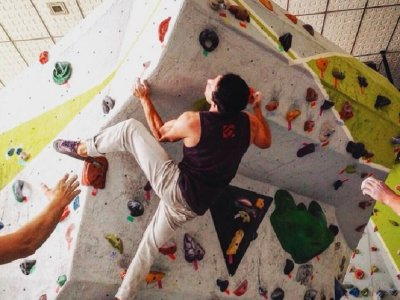 Monthly bonus Wall of Climbing Torres de Lindavista