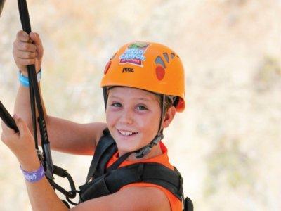 Salto en bungee para niños en Los Cabos 4 hrs