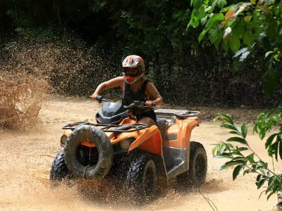 ATV route and mexology in Puerto Morelos