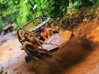 Buggy and zipline adventure in Puerto Morelos