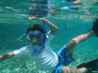 Snorkel for children in Puerto Morelos 4 hours