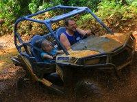Buggy and Zipline Tour in Puerto Morelos Children