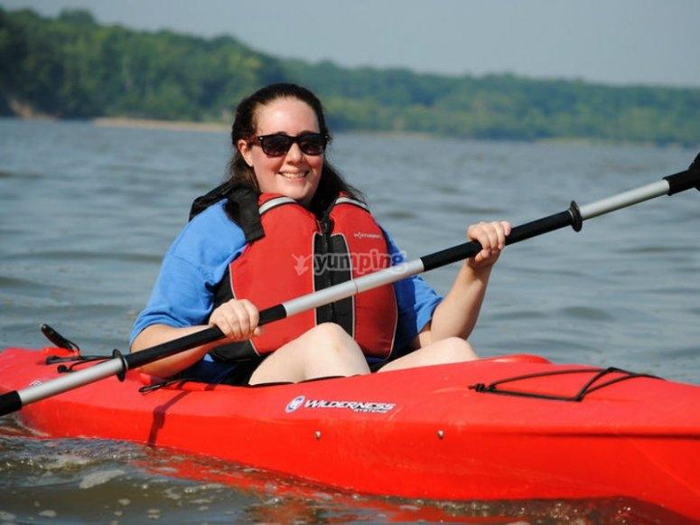 Have fun paddling your kayak