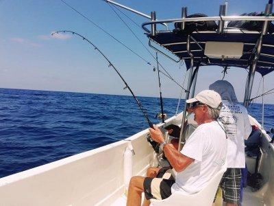 Pesca deportiva privada en Puerto Escondido 5 hrs