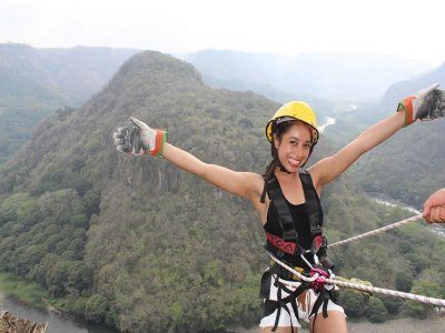 Rafting, zip line and 4 meals in Jalcomulco 2 days