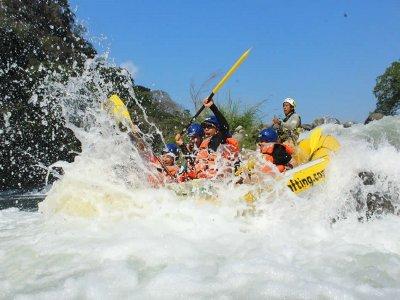 Rafting and zipline in Río Pescados 6 hours