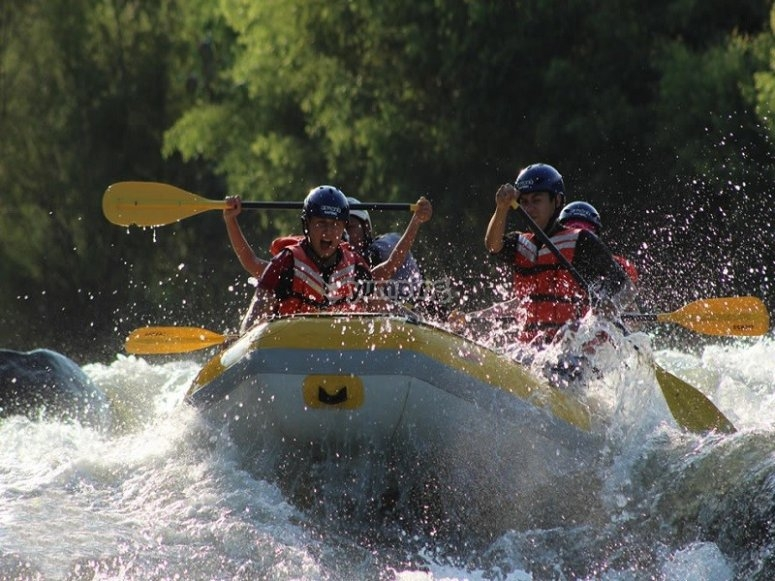 Unlimited fun on your rafting raft