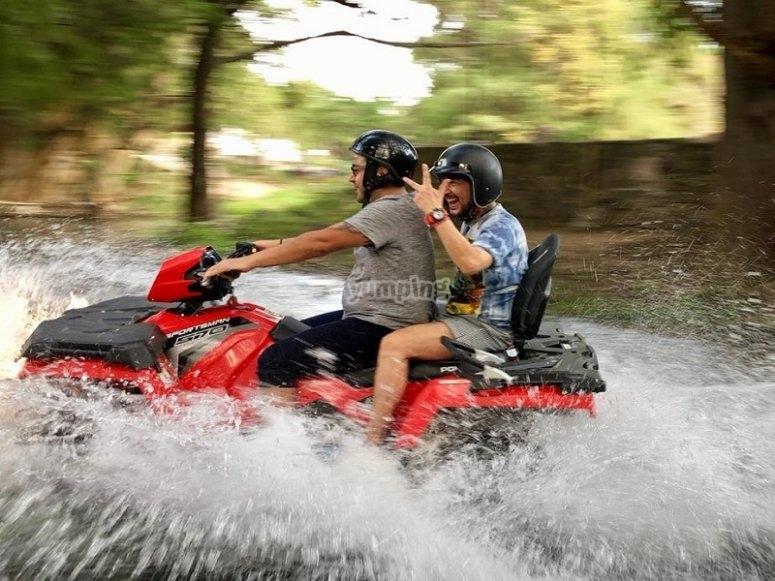 Adrenalina máxima a bordo de tu cuatrimoto en Tepoztlan