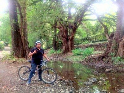 Paseo en bicicleta de montaña por Tepoztlán 2 hrs