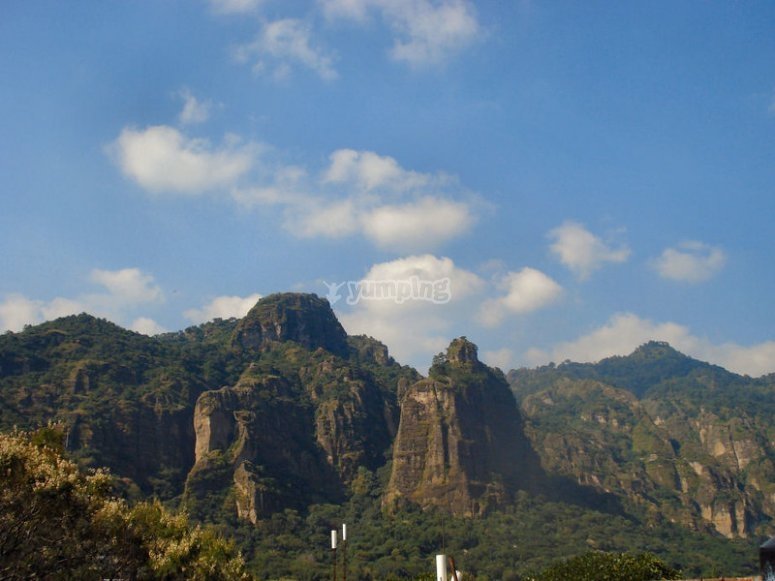 Montañas en Tepoz