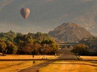 Balloon over pyramid
