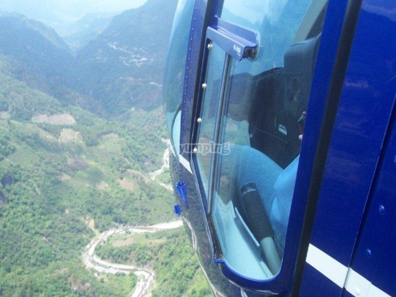 Helicopter landscapes