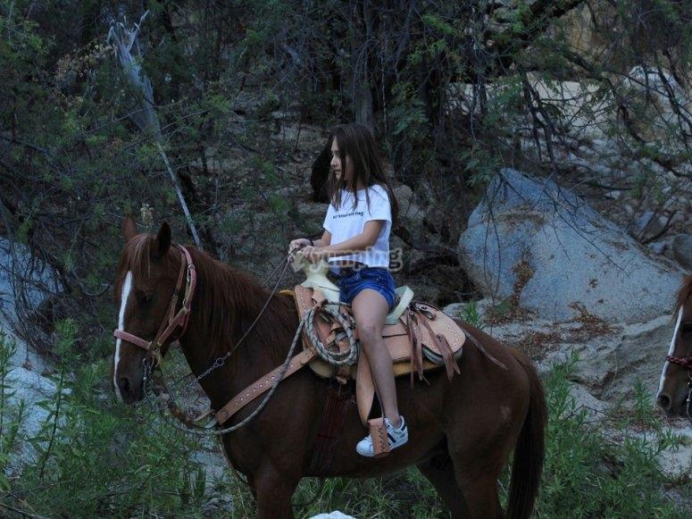 Los niños también pueden disfrutar de la cabalgata