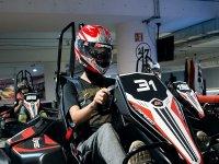 Go Karts indoor track 1 race in Coapa