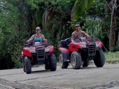 Cuatrimoto y tirolesas en Puerto Vallarta 4 horas