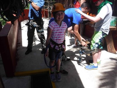 Tirolesas en Rio Cuale Puerto Vallarta 4 hrs niños