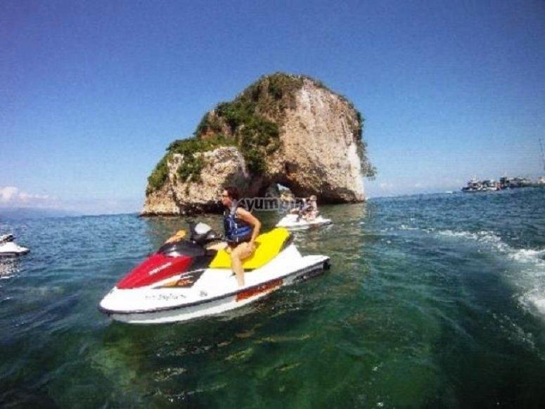 Aventura en las aguas del Pacifico Mexicano