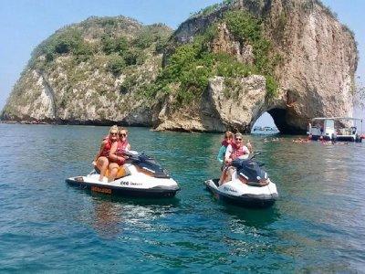 Moto acuática y snorkel en Puerto Vallarta 2 horas