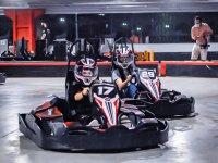 Go Karts race in Boca del Río 14 laps
