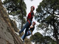 abseiling in pairs