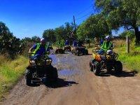 ATV tour through Teotihuacán pyramids 3h