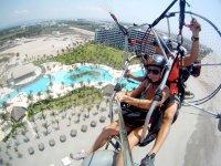 Flying hotel zone
