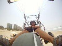 Flight in acapulco