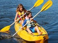Kayak tour for children to Marietas Islands 6 hours